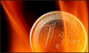 Euro Consumed by the Flames