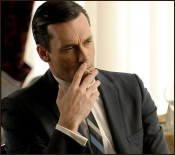 Don Draper Smoking