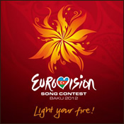 Logo of the Eurovision 2012 Competition