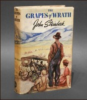 Cover of 1st edition Grapes of Wrath