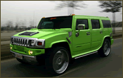 The Only Kind of Green Hummer
