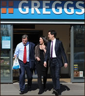 Miliband and Balls Buying Pasty
