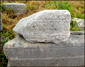 A Stone at Perge
