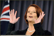 Julia Gillard Perplexed
