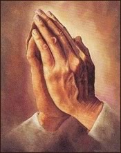 Catholic Art Praying Hands