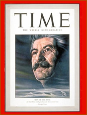 Stalin Time Man of the Year 1942