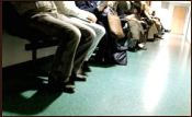 A Queue in a Hospital Waiting Room