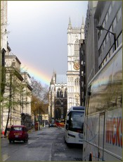 Rainbow Over Westminster